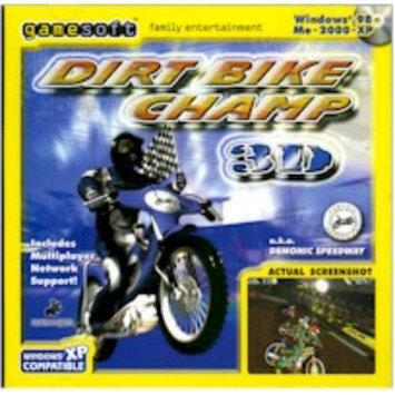 GAMESOFT DIRTBIKECHAMP Windows 95 98 Me 2000 Xp Realistic Weather Conditions
