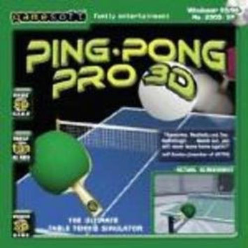 GAMESOFT PING PONG PRO 3D - TABLE TENNIS 3D