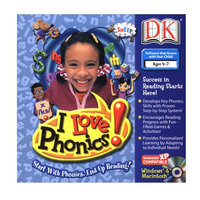 Dorling Kindersley Multimedia DK LDILOPHONJ I Love Phonics!