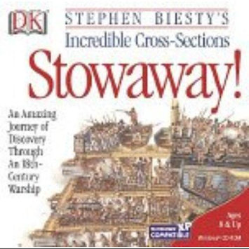 DK MULTIMEDIA Stowaway Computer Game Windows 95/98/2000 STOWAWAY