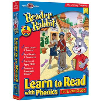 LEARNING COMPANY READER RABBIT READ W PHONICS 1st 2nd GD