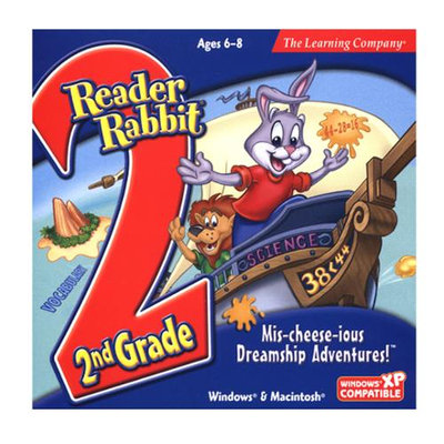 Learning Company LLREA2NDMDJ Reader Rabbit 2nd Grade - Mis-cheese-ious Dreamship Adventures!