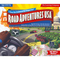 Learning Company Road Adventures Usa (3 Dvd's)