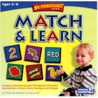 LEARNING COMPANY 6131MATCH AND LEARN SUPERSTART SERIES