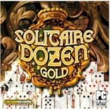 Casual Arcade Casualarcade Solitaire Dozen Gold - Strategy Game - PC