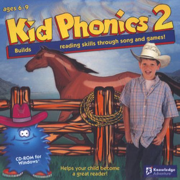 KNOWLEDGE ADVENTURE 6217KID PHONICS 2