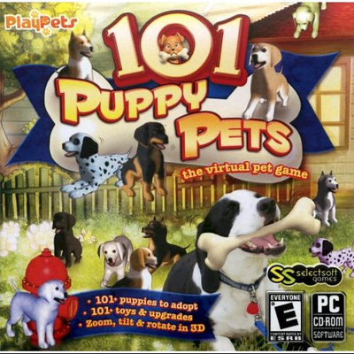 SELECTSOFT PUBLISHING 6618101 PUPPY PETS VIRTAL PET GAME