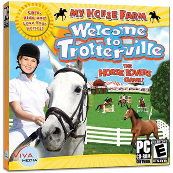 Viva Media My Horse Farm: Welcome To Trotterville - Simulation Game - CD-ROM - PC