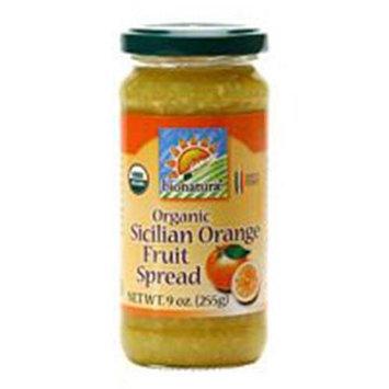 Bionaturae Sicilian Orange Fruit Spread 9 Oz -Pack of 12