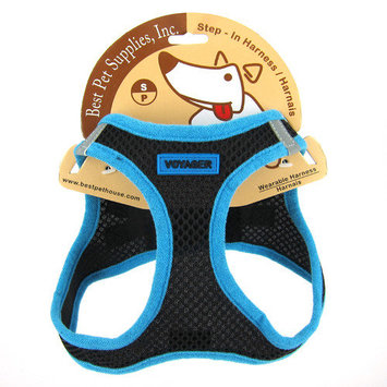 Best Pet Supplies Color Lined Wearable Harness Color: Blue, Size: Large