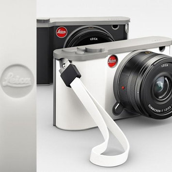 Leica Silicon T Neck Strap for Cameras, White