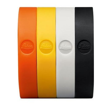 Leica T Neck Strap, Silicon, Orange-Red