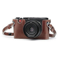 Leica Leather Vintage Protector for X-Vario (Typ 107) and (Typ 113) Cameras, Taupe