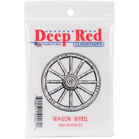 Deep Red Stamps Deep Red Cling Stamp 2