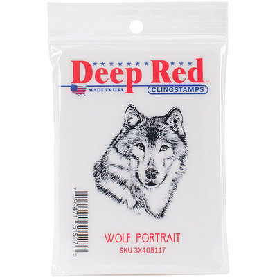 Deep Red Stamps NOTM321448 - Deep Red Cling Stamp 1.75
