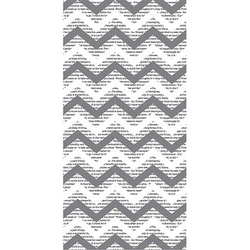 Hazel & Ruby HRTR-341 Pass The Tissue Tissue Paper Roll-Mod Gray 18 in. X144 in.