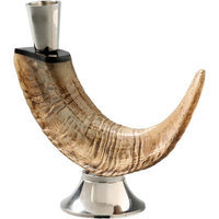 Foreign Affairs Home Decor Horn Candle Holder