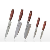 Zhen VG-10 Series 5 Piece 3 Layers Forged Steel Knife Set