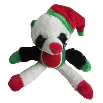Iconic Pet 91803 12 in. Panda With Tennis Ball Squeaky Dog Toy