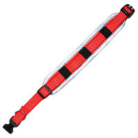 Iconic Pet 91856 Reflective Adjustable Safety Dog Collar - Orange - Large