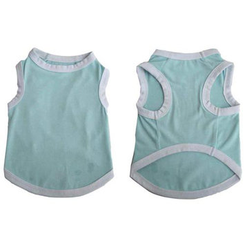 Iconic Pet 91972 Pretty Pet Blue Tank Top For Dogs & Puppies - Small