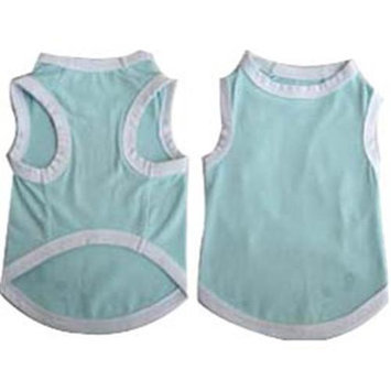 Iconic Pet 91975 Pretty Pet Blue Tank Top For Dogs & Puppies - X Large
