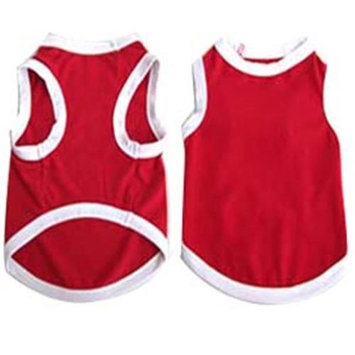 Iconic Pet 91979 Pretty Pet Red Tank Top For Dogs & Puppies - Medium