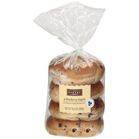 The Bakery At Walmart Blueberry Bagels, 4ct