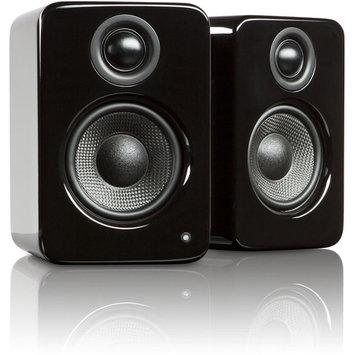 Kanto Distribution Kanto YU2GB YU2 Premium Desktop Speakers - Gloss Black
