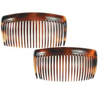 Camila Paris AD66-2 1.75 In. Tortoise Shell Hair Combs - Pack Of 4