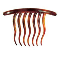 Camila Paris AD73 4 In. Tortoise Shell Hair Combs - Pack Of 4