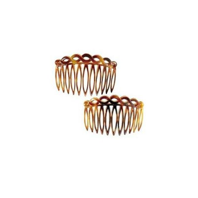 Camila Paris CP33-2 3 In. Tortoise Shell Hair Combs 4 Pack of 4
