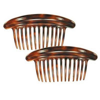 Camila Paris MP979-2 6.5 In. Tortoise Shell Hair Combs 4 Pack of 4