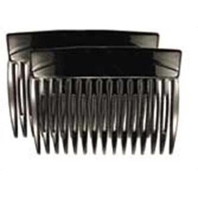 Camila Paris MP877-2 3 In. Black Hair Combs 4 Pack of 4