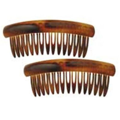 Camila Paris MP75-2 3 In. Tortoise Shell Hair Combs 4 Pack of 4
