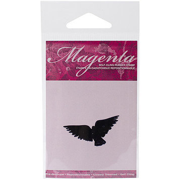 Magenta C42197E Magenta Cling Stamps 1 in. x 1.75 in-Flying Bird 2