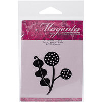 Magenta C86009I Magenta Cling Stamps 2.5 in. x 2.25 in-Pompons