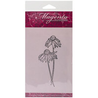 Magenta Cling Stamps 2.25