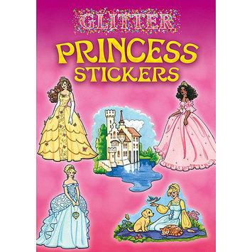 Dover 466748 Dover Publications-Glitter Princess Stickers