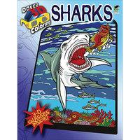 Dover Publications 'Sharks' 3-D Coloring Book