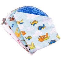 Ammee's Babies Ammees Babies AB800BA Boys Hemstitched Burp Cloth Bundle, 3-Pack 073299