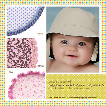 Ammee's Babies-Baby Shower Crochet Edges