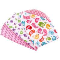 Ammee's Babies Burp Cloth Bundle 3/Pkg-Girls Hemstitched Burps