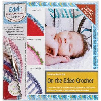 Ammee's Babies EdgIt Piercing Crochet Book, Hook & Burp Cloth Kit