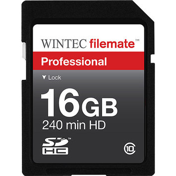 Wintec Industries WINTEC FileMate 16GB Professional Class 10 Secure Digital SDHC Card - Retail
