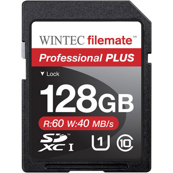 Wintec Industries Wintec Filemate Professional Plus 128GB SDHC UHS-1 Memory Card