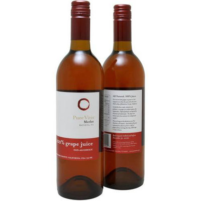Pure Vitis Merlot 100% Grape Juice, 750ml (Pack of, 2)