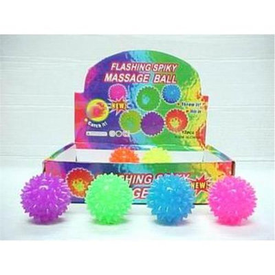 DDI 891240 2.25 in. Light Up Spiney Massage Ball