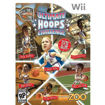 Zoo Games Wii Hall of Fame: Ultimate Hoops Challenge Video Game - DESTINATION SOFTWARE, INC.