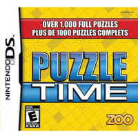 Zoo Games Puzzle Time (Nintendo DS)